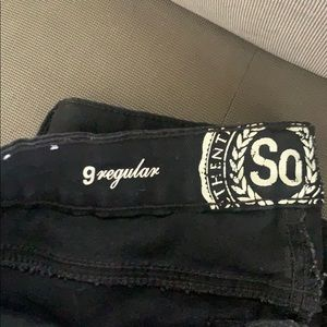 SO Jeans - Just like new! Black skinny Jeans size 9